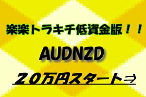 楽楽トラキチ低資金版(AUDNZD)