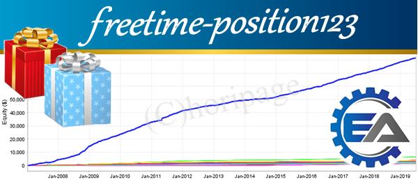 freetime-position123のポートフォリオの資産グラフ