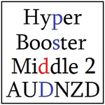 Hyper Booster Middle 2 AUDNZD